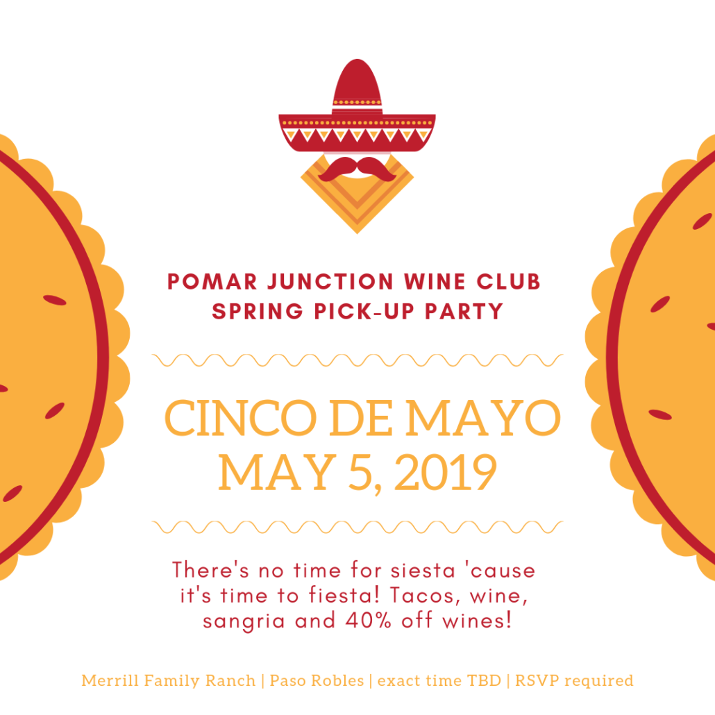 Spring Wine Club Pick-Up Party @ Merrill Family Ranch